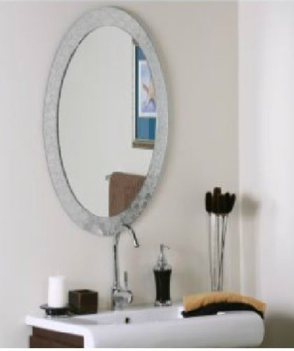 Website Picture Gallery New Modern Frame Less Bathroom Hallway Elegant Designer Oval Shape Wall Mirror eBay