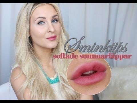 SMINKTIPS – Softade läppar med läppstift | Helen Torsgården – Hiilens sminkblogg