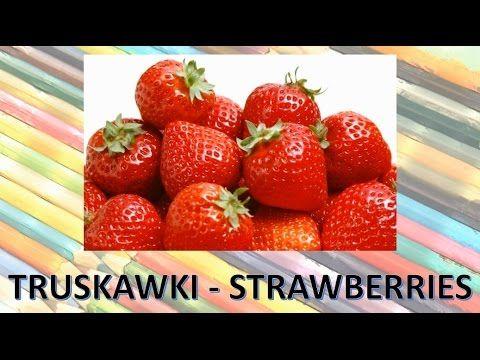 Pokoloruj Świat. Nauka Angielskiego dla dzieci - Owoce - YouTube