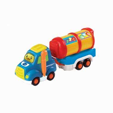 VTech Toet Toet Auto's Timo Tankwagen  Jouw baby beleeft de leukste avonturen met dit VTech Toet Toet Auto's Timo Tankwagen figuur! Druk op de knipperende gezichtstoets van dit leuke speelgoed en hoor grappige geluidseffecten!  EUR 11.99  Meer informatie