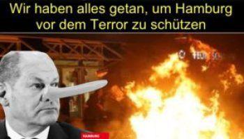 G-20-Ausschreitungen in Hamburg: Oberbürgermeister Olaf Scholz (SPD) hatte gelogen