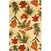 Found it at Wayfair - Catalina Ivory Tropical Flora Rug