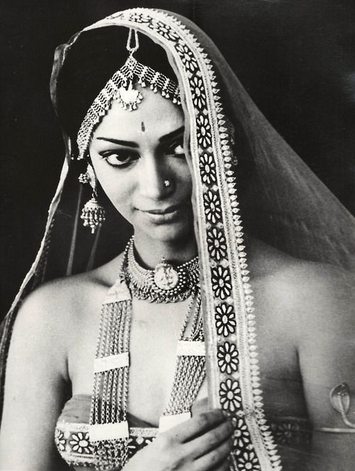 "Simi Garewal, she is in ""Siddharta"", one of my favorite Hindi, film."