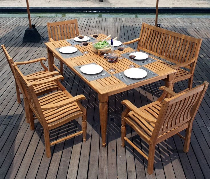 tropical outdoor furniture - Garden Furniture Stain