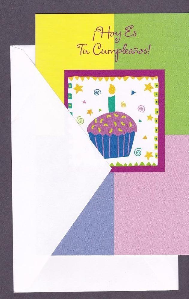 wedding anniversary greeting cardhusband%0A Spanish Birthday Greeting Card  Today Is Your Birthday