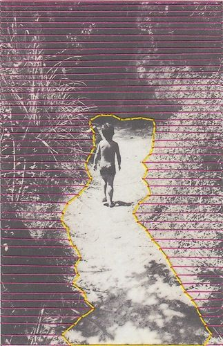 Fotografía bordada a mano por mi.10x15cm.Copia impresa.Papel fotográfico de alta calidad.