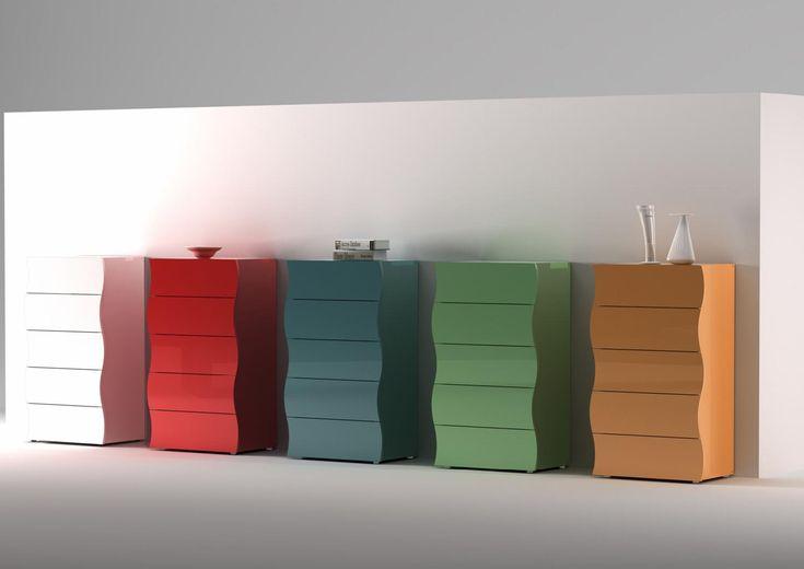 5 cassetti
