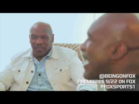 Mike Tyson and Evander Holyfield rehash the 'ear bite'