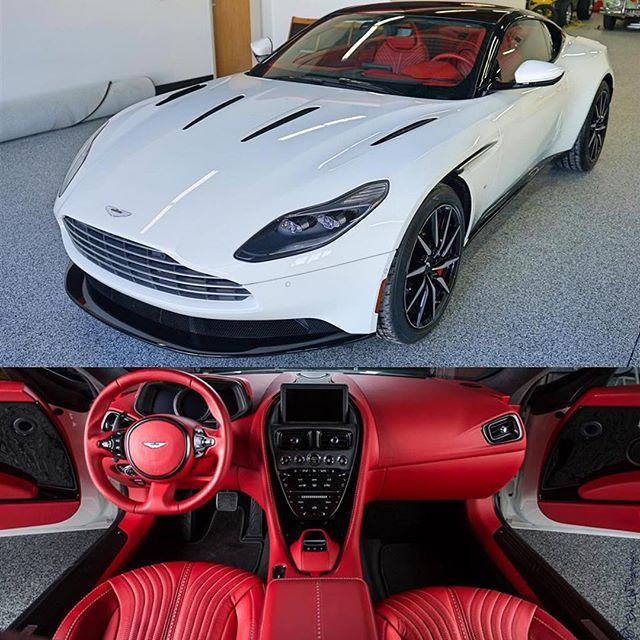"""Instagram media by dupontregistry - As of right now, it's actually pretty difficult to get yourself a new 2017 Aston Martin DB11, but thankfully @LupoMotors has one for sale no on #dupontregistry. In fact, the dealership says in the listing's description that this is """"the first DB11 on the market you can buy and take delivery of today."""""""