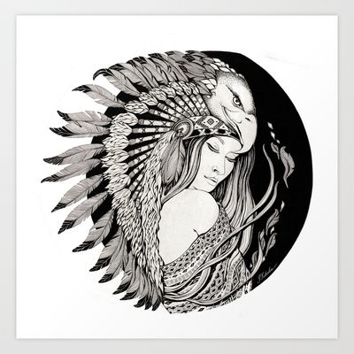 A dream of feathers Art Print by ioanazdralea - $43.68