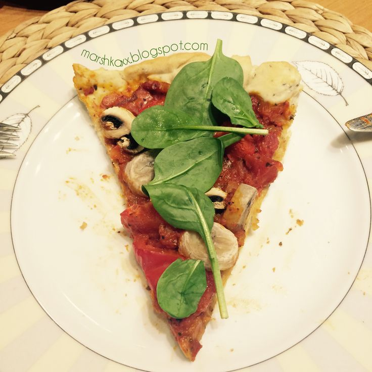 vegan pizza <3