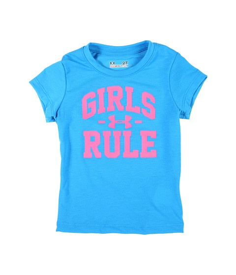 Under Armour Kids Girls Rule Tee (Toddler) Pool - Zappos.com Free Shipping BOTH Ways