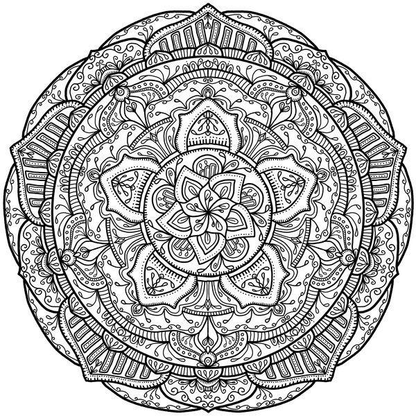 Krita Mandala 18 By WelshPixie Print Image