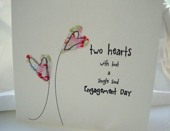 engagement card £3.25 by The Glass Boutique by artar