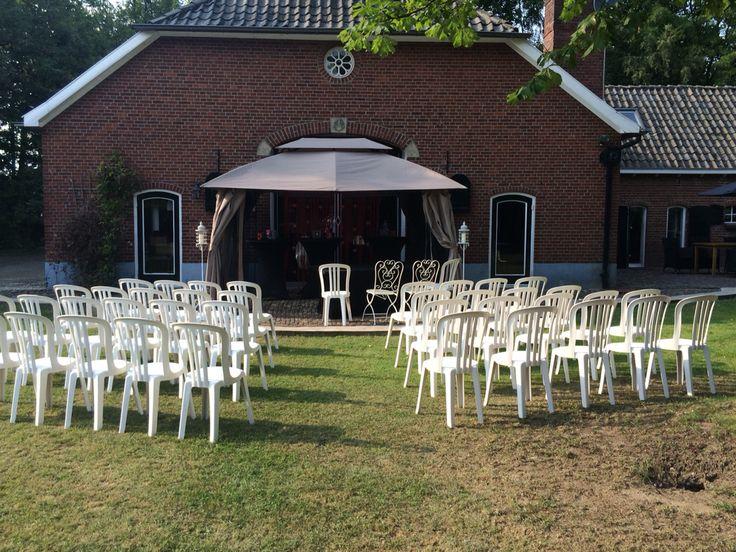 Opstelling ceremonie