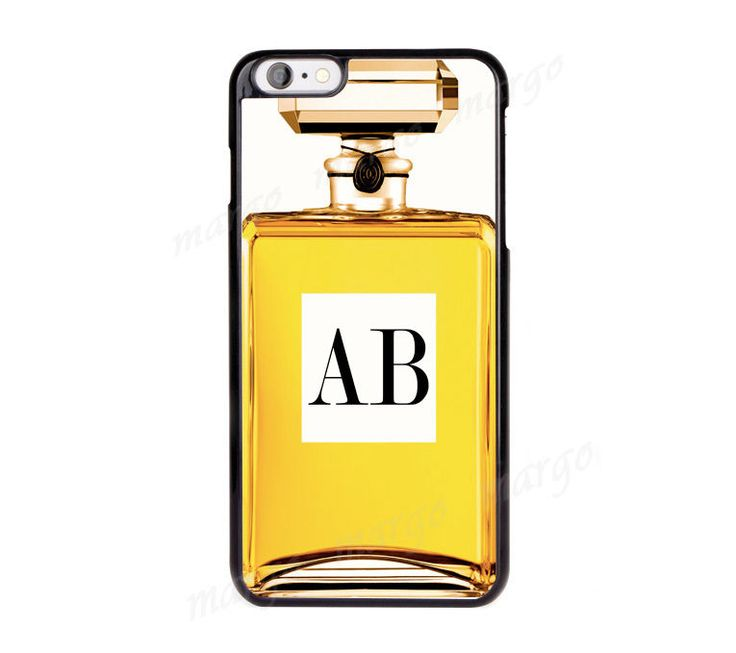 Perfume Bottle Personalised Monogram Case Cover for iPhone Samsung Sony iPod…