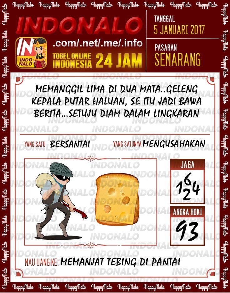 Kode Main 6D Togel Wap Online Live Draw 4D Indonalo Semarang 5 Januari 2017