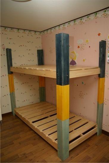 [My DIY] 아이들 원목 2층 침대 - 프레임1 : 네이버 블로그