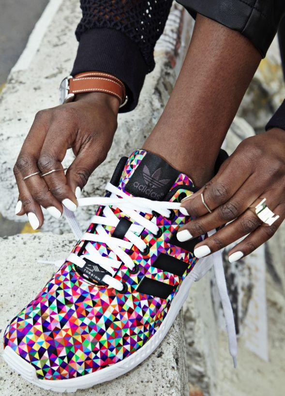 Adidas Originals   ZX Flux (photo Daniel Roche réalisation Vanessa Coquet)
