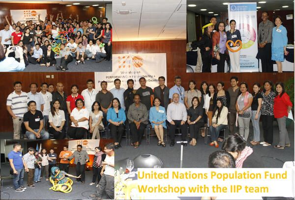 IiP Philippines workshop with the United Nations Promotional Fund investing in their people #iip2013