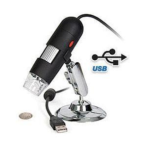Regalos originales y gadgets de electronica. Microscopios USB con camara de video para el ordenador PC.