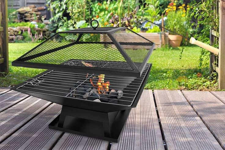 10 Best Ideas About Square Fire Pit On Pinterest
