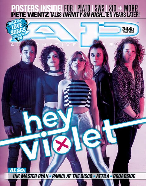 Welcome HEY VIOLET to the next cover of Alternative Press! From touring with the Smashing Pumpkins as middle schoolers to starting their own headline tour this spring, the members of Hey Violet have a