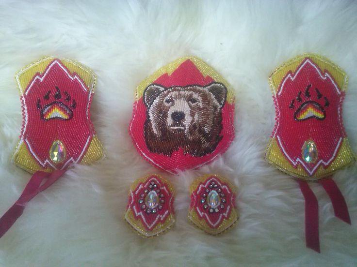 Bear set, Sky Dancer Designs on Facebook