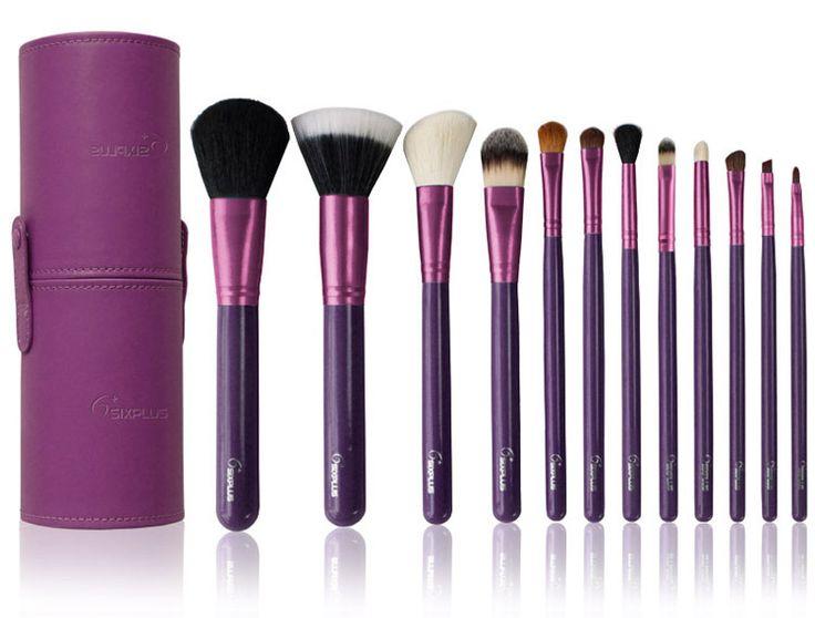 Purple Good Makeup Brushes - http://ikuzomakeup.com/purple-good-makeup-brushes/