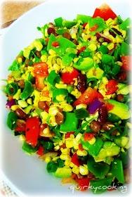 Quirky Cooking: Tex-Mex Raw Corn Salad