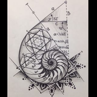 sacred geometry spiral tattoo - Google Search                              …