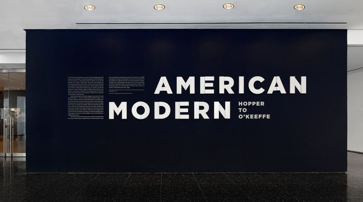American Modern - The Department of Advertising and Graphic Design