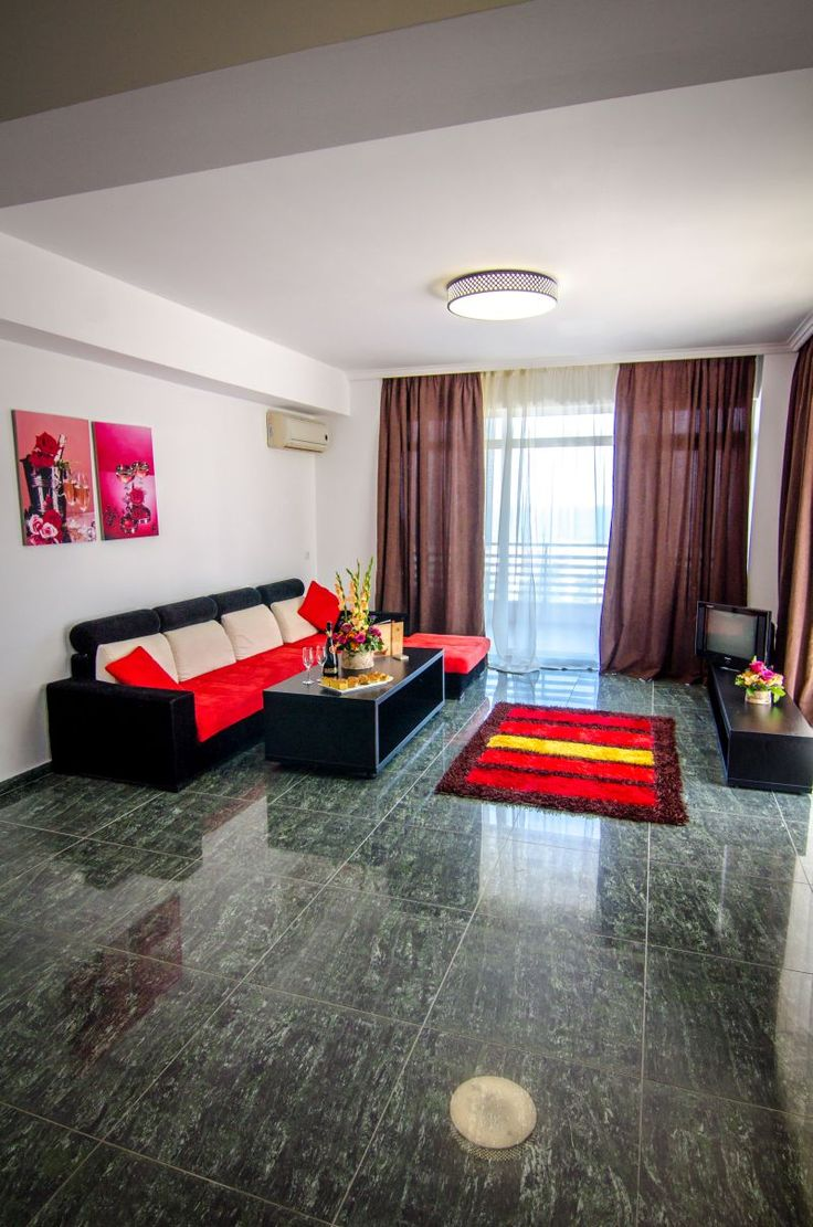 One bedroom apartment living room - Phoenicia Holiday Resort, North Mamaia, Constanta, Romania