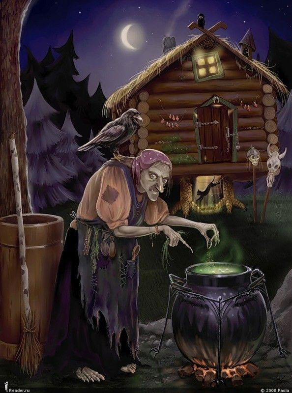 old witch - Halloween Witchcraft