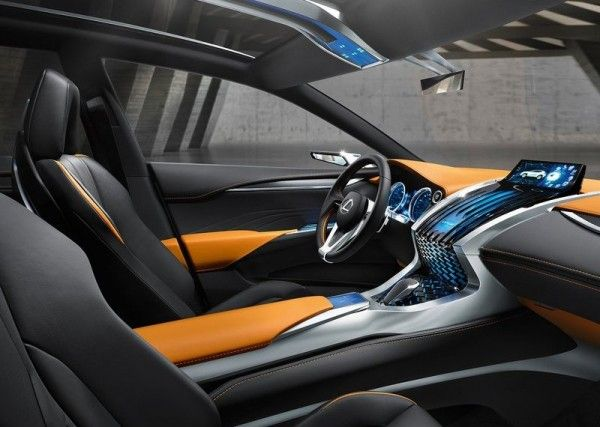 Lexus LF NX Luxury Interior 600x427 2013 Lexus LF NX Concept Reviews