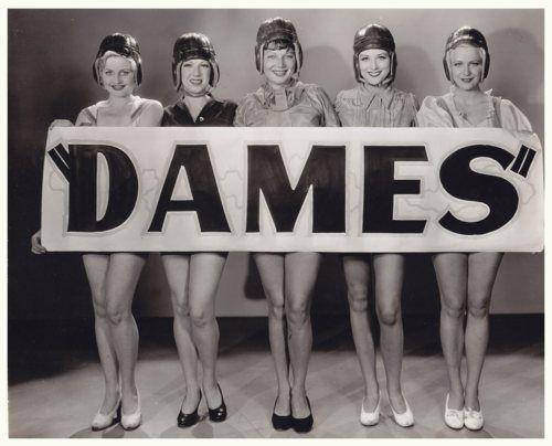 vintage dames.