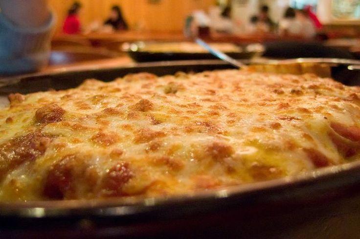 Recette traditionnelle de la macaronade sétoise, gratinée