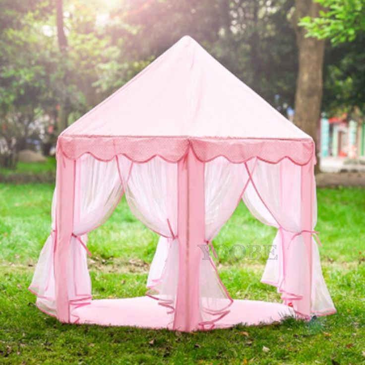 Princess Castle Play Tent Canopy | Indoor & Outdoor | SHIPS from USA