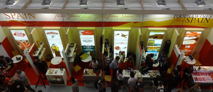 Spanish exhibitors at the Speciality and Fine Food Fair 2012 at Oympia London.