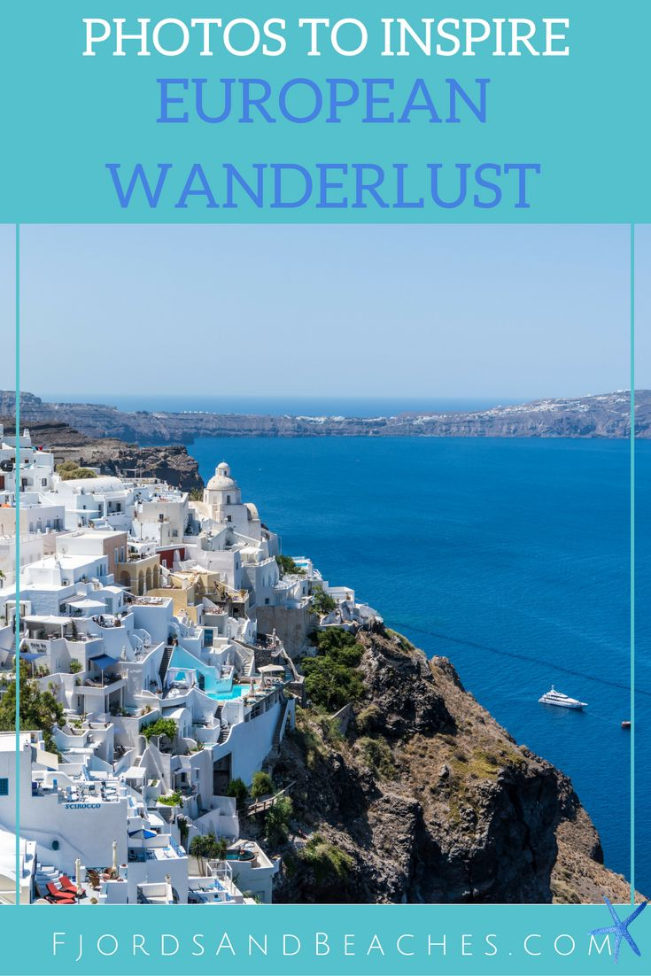 European wanderlust and inspiration. Beautiful photos of Europe. Photos to inspire you to visit Europe.