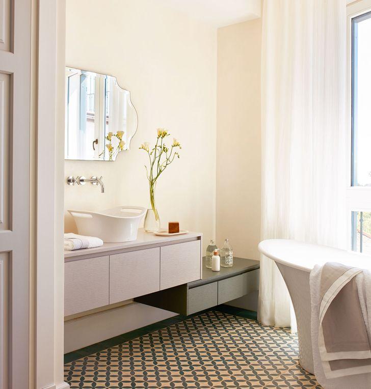 Baños Estilo Ajedrez:Más de 1000 imágenes sobre Bathroom en Pinterest