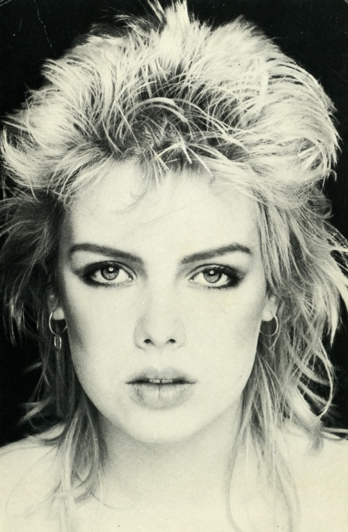 Kim Wilde on French postcard, 1983. ~ Check out for more pins: https://www.pinterest.com/nenoneo/kim-wilde/