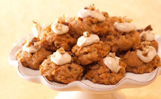 Epicure's Carrot Cake Cookies
