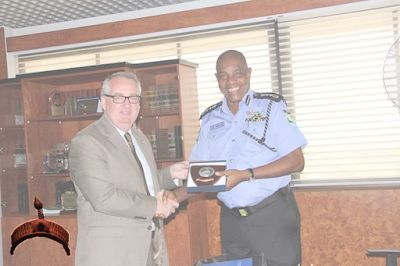 Official chief of Police administrations at the International Criminal Police Organization, Tim Morr...