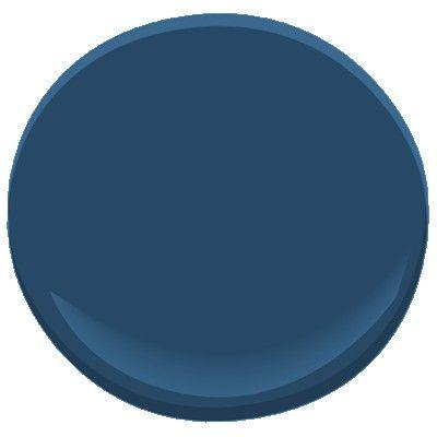 Bleu Cobalt 2061-20 Peinture - Benjamin Moore Bleu Cobalt Détails des couleurs de peinture
