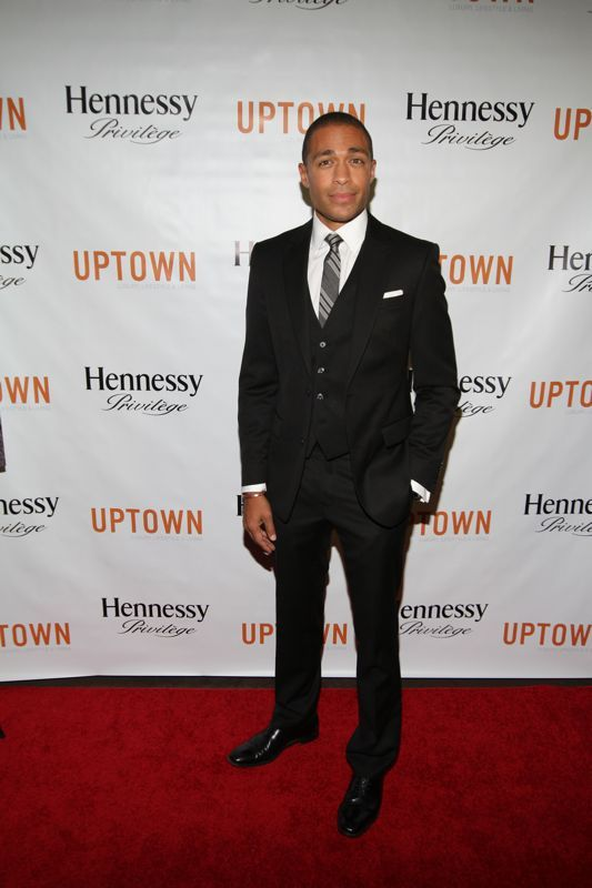 t.j holmes images | Holmes Receives The Hennessy Privilege Award [Photos]