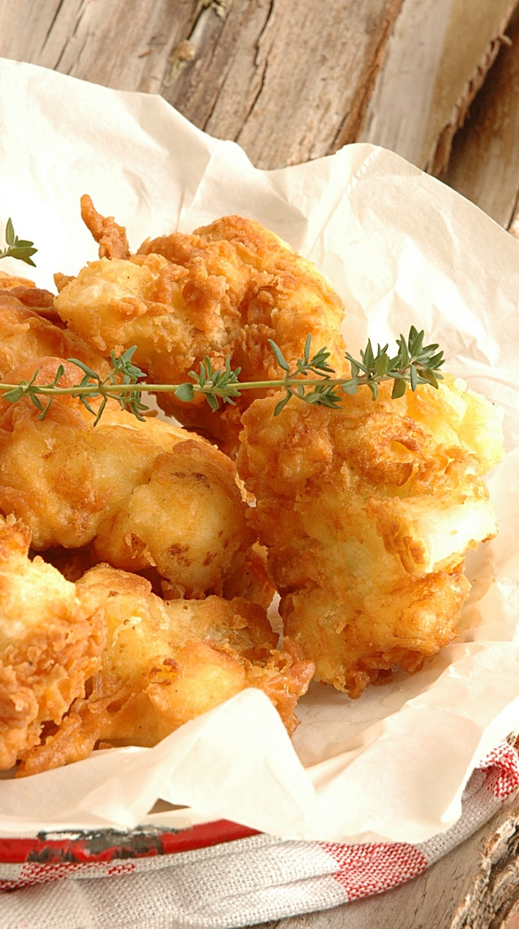 The Colonel's French Fried Cauliflower: Side Dishes, Cauliflowers Recipe, Fried Cauliflowers, Yummy Food, Easy Cooking, Colonel French, French Fried, Appetizers, Soups Recipe