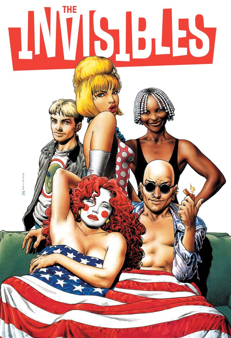 'The Invisibles,' Grant Morrison and Various - Drawn Out: The 50 Best Non-Superhero Graphic Novels | Rolling Stone, referenced in The Matrix and True Detective