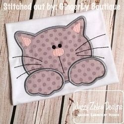Cat 42 Applique - 4 Sizes! | What's New | Machine Embroidery Designs | SWAKembroidery.com Jazzy Zebra Designs