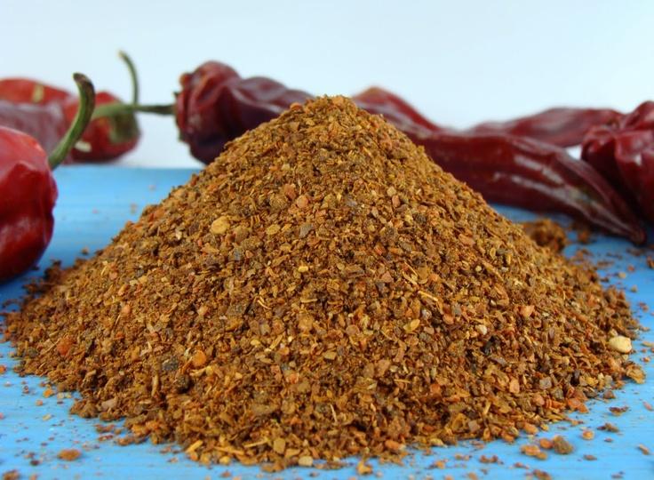 Merken Chili & Vietnamese Cinnamon Rub. $10.00, via Etsy.